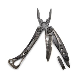 Мультитул Leatherman Topo Skeletool (832755) 7 функций Черный
