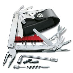 Мультитул Victorinox Swiss Tool Plus 39 функций (3.0338.L)
